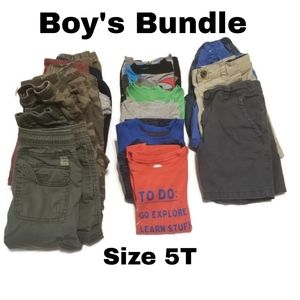 Boy's Bundle Size 5T